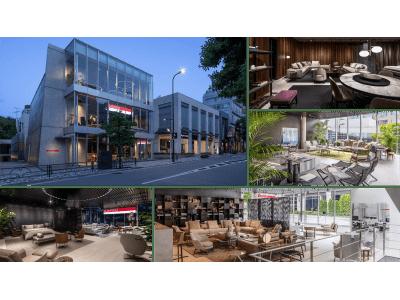 世界最大規模のグローバルフラッグシップストア「FLEXFORM TOKYO」を6月5日(金)に移転オープン