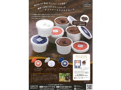 Bean to Bar チョコレート専門店による『カカオ豆の産地別によるチョコレートアイス』が3種類同時発売!