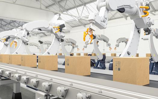 包装ロボット市場ー(アプリケーション別:梱包ロボット、パレタイジングロボット、ピッキングロボット;グ... 画像