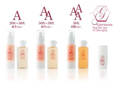 株式会社ヘッドスプリングは、各年代に合ったこだわりの基礎化粧品「Giovinezza(ジョヴィネッツァ)」の取り扱いを開始。