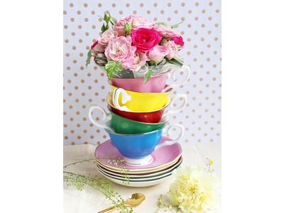 「お花」×「ティーカップ」で笑顔あふれる時間を『 Tea cup bouquet -ティーカップブーケ- 』10月15日(木)フラワーショップkarendoより新発売