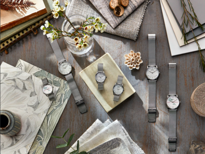エシカル時計ブランド 'August Berg (オーガスト・バーグ)' が英国の伝統的デザインブランド 'Morris & Co. (モリス・アンド・コー)'とのスペシャルコラボレーションを発表