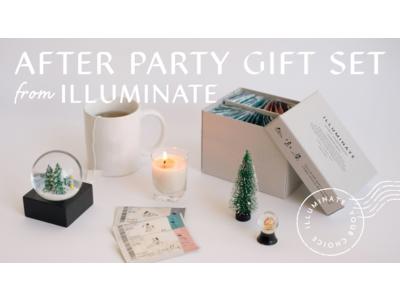 女性向けヘルスケアブランド「ILLUMINATE」からチケットサプリのクリスマス限定ギフトセットが発売