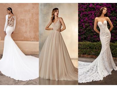 海外ブランドの2021年新作ドレス、予約受付スタート。『PRONOVIAS』を含む多数のドレスが全国のスタジオに。