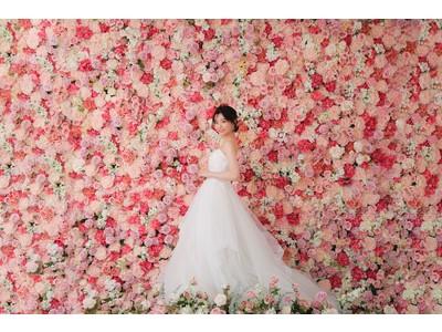 一面お花のフラワースタジオが九州・福岡に新登場。フォトウェディング「スタジオAN」スタジオリニューアル