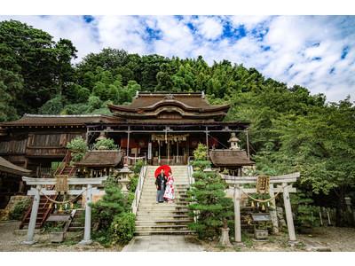 【旅×フォトウェディング】日本の美を活かしたロケーション撮影「フォトジェニックジャーニー」をリリース