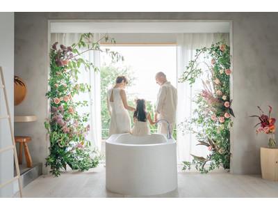 少人数での宿泊型結婚式「花ノ家族婚」第5弾~透~淡路島の1日1組の1棟貸の貸別荘「ISLAND LIVING」で結婚式サービスを開始いたします