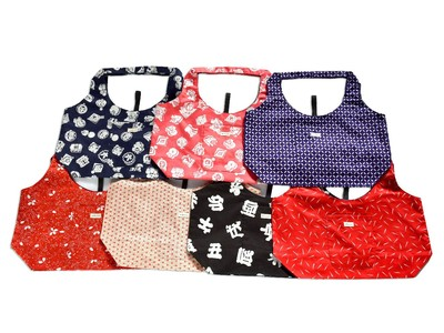 【数量限定】清潔に使えてコンパクト。縁起の良い和柄で人気のエコバッグが新商品を発売!