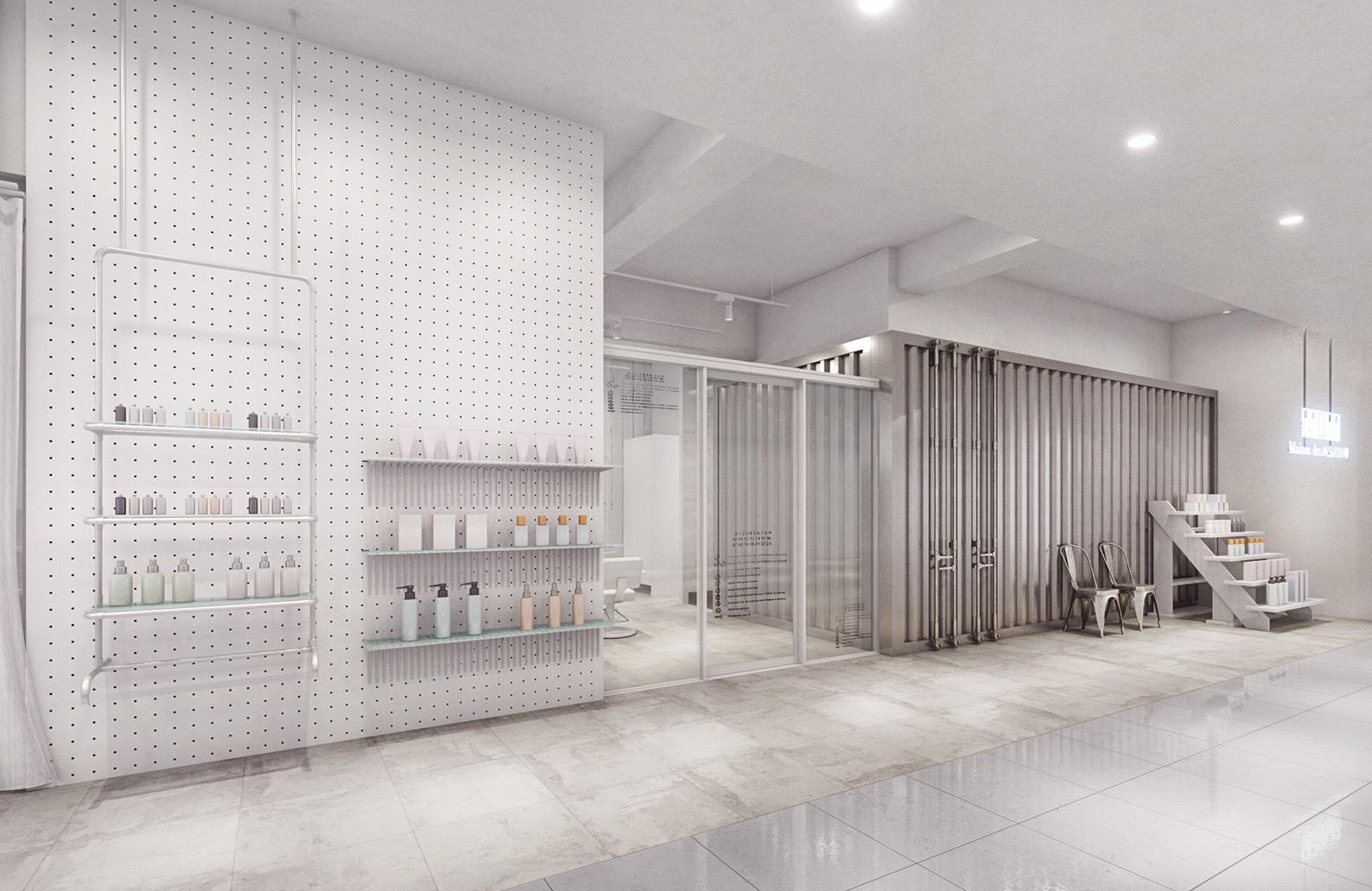【日本発】令和3年2月24日 ヘアサロンとライフスタイルショップの機能を融合した新店舗【MDM「Maison des M.SLASH」】OPENのお知らせ
