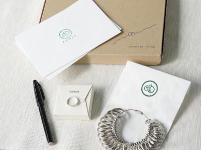【新商品】手作り結婚指輪のrenriがお届けする、明日へと二人をつなぐ指輪を作るキット『プロミスリング』