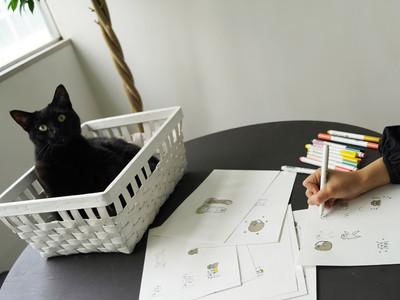 猫のいる指輪アトリエ「renri」の看板猫 「さく」と「みつき」の公式LINEスタンプ第2弾が登場!!