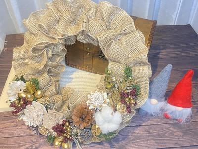 "【style table Ethical Workshop】世界に一つだけの""エシカルクリスマスリース""手作り体験"