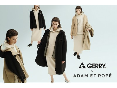 GERRY × ADAM ET ROPE' 9.4 WED. NEW RELEASE