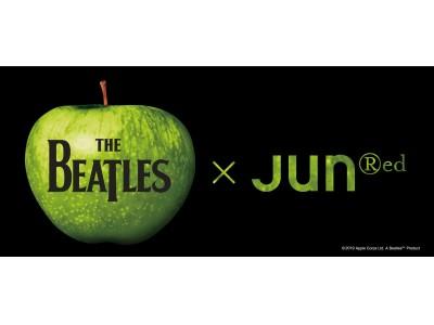 「ジュンレッド」が「THE BEATLES(ザ・ビートルズ)」のフォトやグラフィックをプリントしたアイテムを発売中。