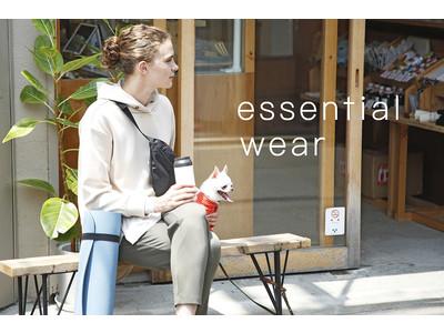 「ROPE' PICNIC」から、なめらかな肌ざわりが特徴の <essential wear>が登場!