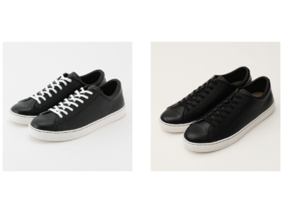ADAM ET ROPE'がオールブラックで別注したLEATHER ALL STAR COUPEを発売
