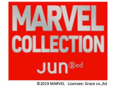 JUNRed[MARVEL]コレクション4/26(金)より発売。JUNRed限…