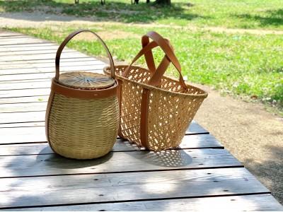 ROPE' E'TERNEL 日本の伝統文化を伝える「TE-SHI-GOTO PROJECT」を始動。第一弾は有製咲処の西本有氏とコラボレーションした竹籠バッグ。