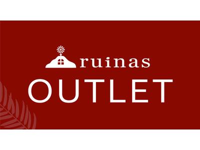 株式会社エンドレスより新形態ブランド「ruinas OUTLET」、JR新橋駅からポップアップストアで展開を開始。