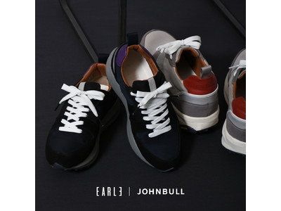 EARLE × JOHNBULL  別注スニーカーをリリース!