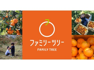 家族で果樹園のマイクロオーナーになろう!年間25,000円でみかんの木のオーナーになれる「ファミリーツリー」7月9日(木)よりサービス開始
