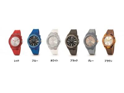 """フォリフォリより新作ウォッチ""""Rainbow Time Watch Collection""""が登場!"""