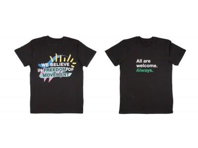 6月20日(火)は「世界難民の日」、チャリティTシャツを販売し、売上げの全額を難民支援団体に寄付