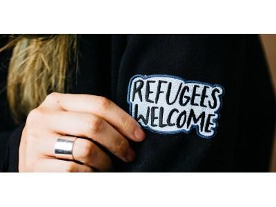 昨年に続き、12月26日(火)より難民支援キャンペーン開始、チャリティ商品「Refugees Welcome」(ワッペン)の売り上げ全額を寄付