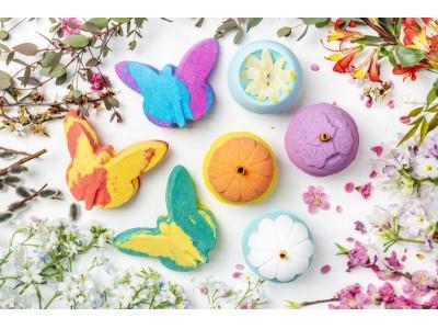 ラッシュ マザーズデイ コレクション 限定アイテム 2019年3月1日(金)より 販売開始 香り豊かで色鮮やかな花や蝶々があなたを春に誘う
