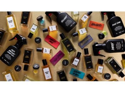 フレッシュハンドメイドコスメLUSH ラッシュが生み出す類稀な香り8種、12月6日より練り香水として登場