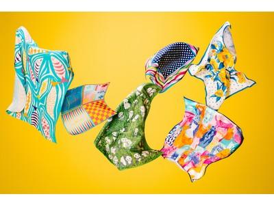 使い方は無限大!ラッシュオリジナル風呂敷アイテム「Knot Wrap(ノットラップ)」全6種の新作が2021年2月26日(金)から発売