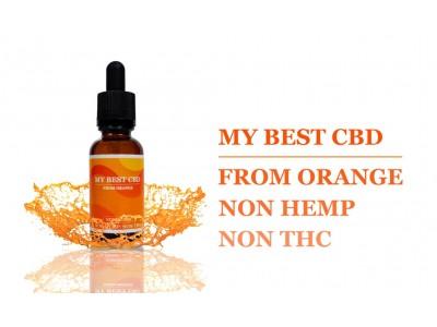 オレンジ由来のCBDオイル 「MY BEST CBD」