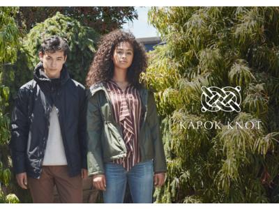 ポップアップ開催!各種メディアで話題のFarm to Fashionブランド【KAPOK KNOT】が銀座三越に期間限定出店。