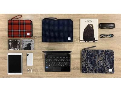 ネクタイ生地で作った個性派デザインに注目!テレワーク時代の今、「ノートPCケース」と「タブレットケース」にもこだわりたい!