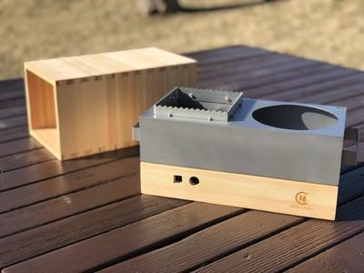 コロナ禍はお家でチビチビ楽しもう!炭屋がプロデュースする小型炭火調理器具「chibi chibi」を新発売