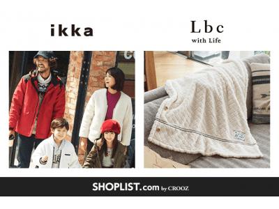 『SHOPLIST.com by CROOZ』年商200億円の株式会社コックスが運営する全国147店舗展開「ikka」、全国45店舗展開「Lbc with Life」が新規オープン