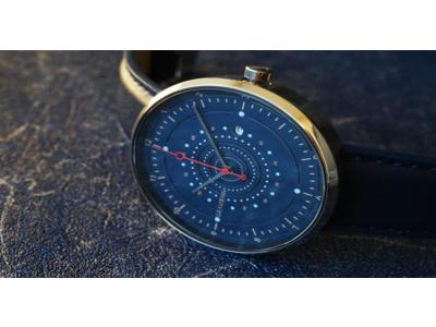 初日で182%超え!世界最大級の国際デザインコンペティション金賞作品。イタリア生まれ最先端のトレンド腕時計、クラウドファンディングで先行販売中!