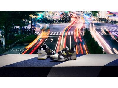 "adidas Consortiumとの初のコラボレーションモデル""EQT PROTOTYPE atmos""が日本限定で登場。"