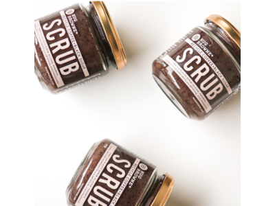 日本初!アップサイクルコーヒー豆を使用したコーヒーシュガースクラブ、「ハグブラウン・エスプレッソボディショット」が登場!