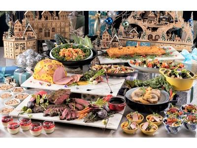 【ヒルトン福岡シーホーク】食で世界旅行気分を体験!「ヒルトン・クリスマスビュッフェ ~世界のクリスマス旅行~」
