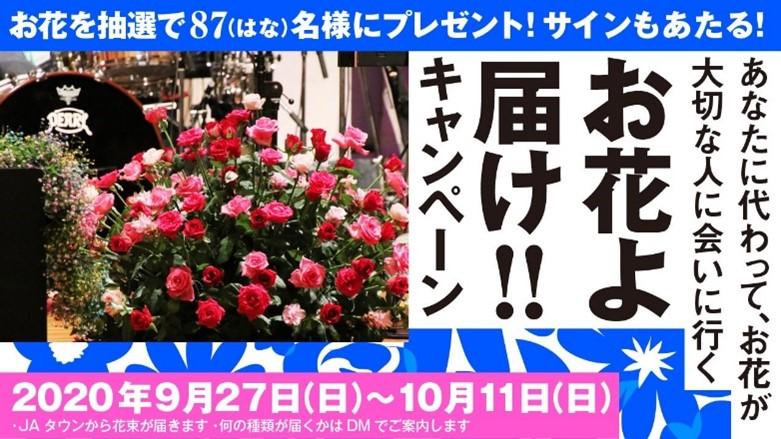 のべ約36万人が視聴!夏の終わりを盛大に締めくくり、無事終演 花をテーマにしたオンライン夏フェス「JA全農COUNTDOWN JAPAN