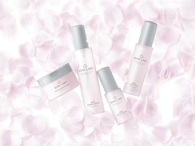 食用バラ農家発の自然派スキンケアブランド「ROSE LABO」が2021年10月13日(水)低刺激でエイジングケア*1も叶う化粧品として製品リニューアル!