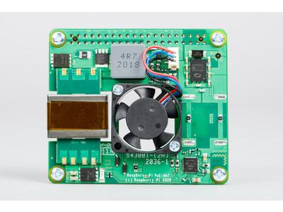Raspberry Pi財団が2021年5月24日に新製品「Raspberry Pi PoE+ HAT」を発表、スイッチサイエンスウェブショップにて近日発売予定