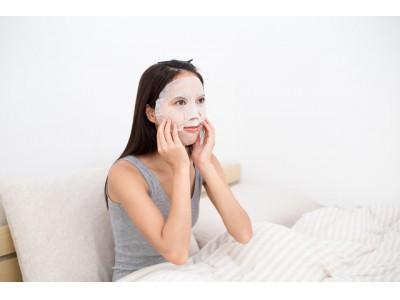 20代・30代女性の約2人に1人が、時間があれば「しっかりスキンケア」をしたい!その中でも時間に余裕があれば、毎日使いたいアイテムは意外にも「シートマスク」が1位!