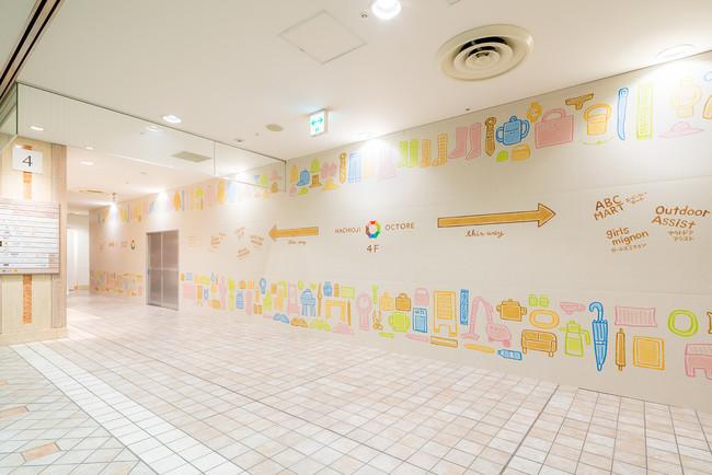 枠を超える創造を一緒に。福祉施設利用者の絵を用いた空間デザインを商業施設で展開