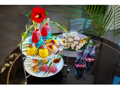 東京マリオットホテル Aloha Afternoon Tea 2018 with Haagen-Dazs(アロハアフタヌーンティー 2018 ウィズ ハーゲンダッツ)