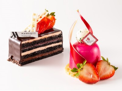 東京マリオットホテル 冬を彩る華やかでフルーティーなスイーツ&ブレッド