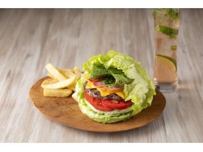 コートヤード・バイ・マリオット 新大阪ステーション パティをまるごとレタスで包んだよりヘルシーなLettuce Wrapped Classic Burgerを販売
