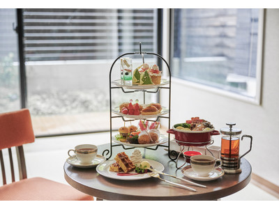 軽井沢マリオットホテル アフタヌーンティーをお部屋にお届け 温泉付プレミアルーム限定のデイユースプランを発売