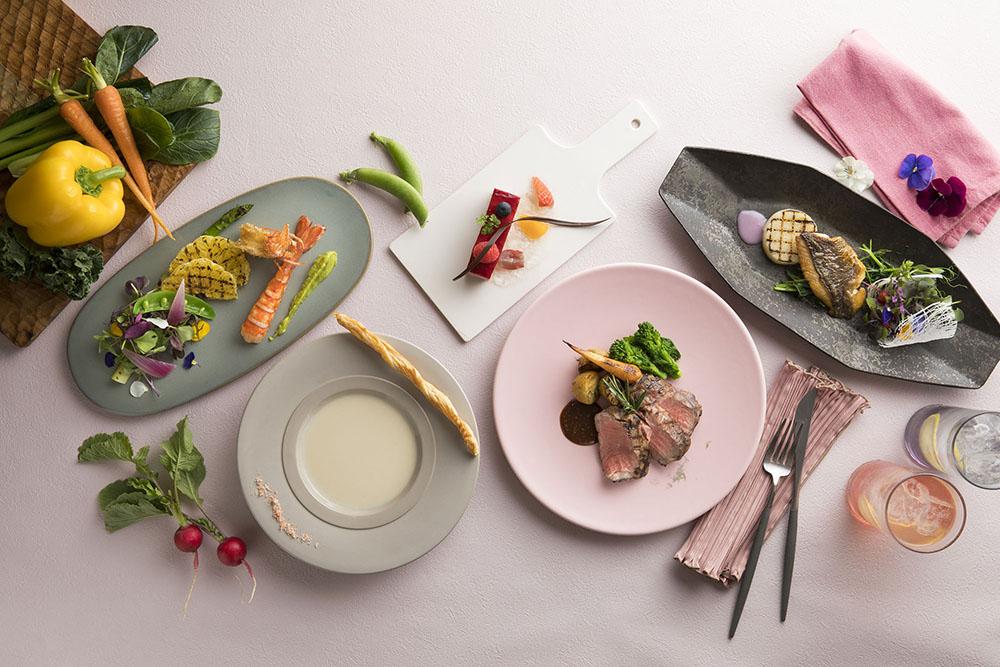 コートヤード・バイ・マリオット 新大阪ステーション Dining(ダイニング) & Bar(バー) LAVAROCK(ラヴァロック)  「彩食健美」をテーマにした春限定ディナーコース&バーガーを発売